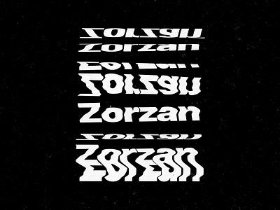 Distortion explorarion graphic  design scan typography type distorted brutalism distortion