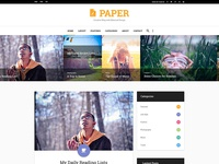 PAPER – Free PSD Template