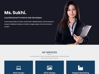 Sukhi | One Page Bootstrap Template