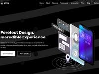 Appiya - App Landing Page