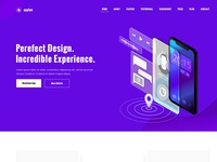 Appiya – PSD landing page template