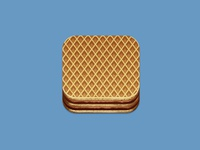 Wafer Cookie Icon