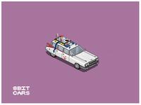 8 Bit Cars   Ghostbusters