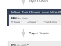 Sifter Navigation Improvements