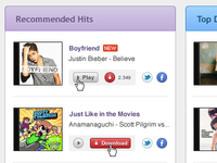 Recommended Hits List