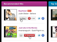 Recommended Hits List (update)