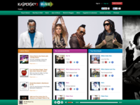 Kaspersky Music is live.