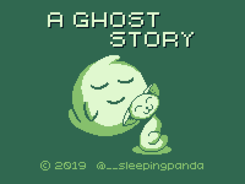A Ghost Story – Title Screen