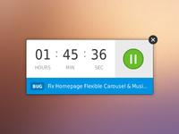 Desktop Timer App Redesign