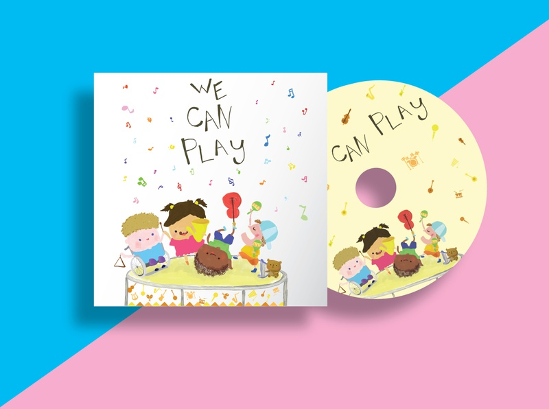 Illustration (Music Album for children) colorful colourful color charater design character cartoon hand draw hand drawn photoshop children illustration children book illustration childrens illustration cute illustration adobe artwork design adobe illustrator artist art illustration