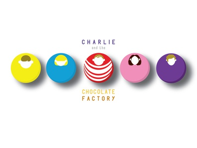 Movie Poster Redesign vector design illustration logo candy blue yellow character design character circle ball simple cute minimalistic minimalism minimal classical film filmposter movieposter