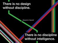 Designer Quote Series - Massimo Vignelli