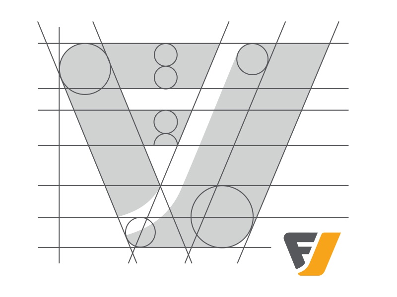Focus Vision Logo Wireframe By JP Marketing