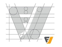 Focus Vision Logo Wireframe