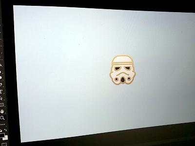 Mockup : Enamel Pin [WIP] wars star progress in work art photoshop mockup illustration pin enamel wip