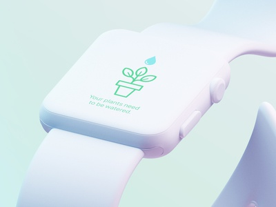 Water Reminder watchOS vector icon ux apple icon apple watch mockup apple watch design mockup uidesign uiux ui app