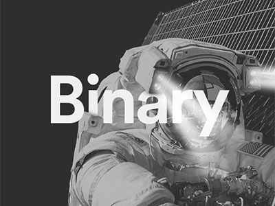 Working Playlist Tile edgy. typography greyscale astronaut artwork playlist space binary