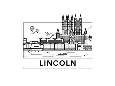 Lincoln Snapchat Filter line uk city geo filter snapchat illustration lincoln