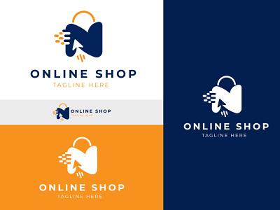 Online Shop Logo Design company logo shop logo online logo business logo branding logodesign design shopping logo brand design logo
