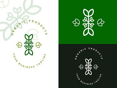 Organic Spa Logo Design apps logo icon app icon company logo business logo brand ident organic logo spa logo sabbir islam graphic design logo logodesign design branding brand design