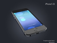 Iphone 5s tilted preview