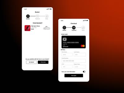 Checkout Mobile Screen