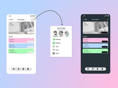 Social Share Icon/Button ux ui design dailyui