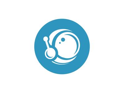 Space Helmet Logo Concept