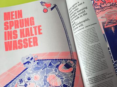 OOPS! magazine: mein sprung ins kalte wasser
