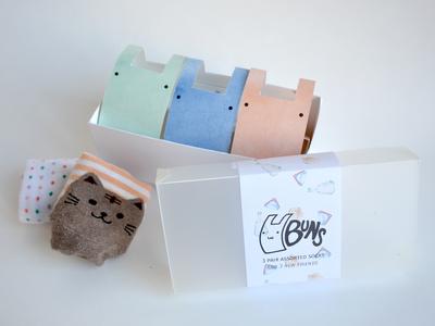 buns: packaging design