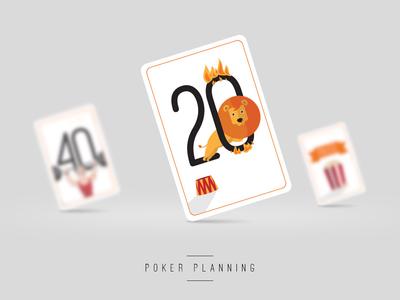 Poker Planning poker planning poker cards illustration