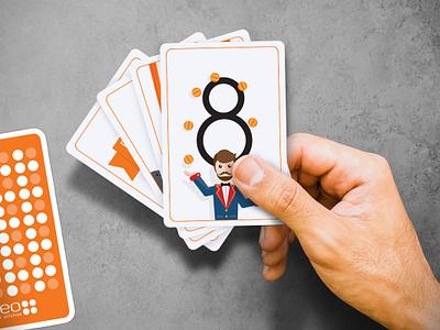 Poker Planning poker planning cards design illustration
