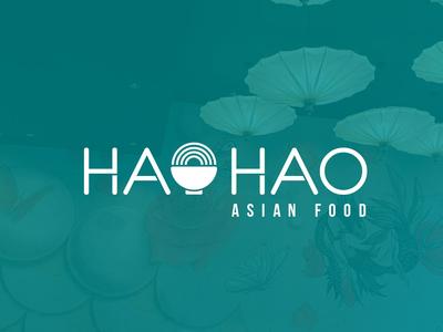 Hao Hao typography vector identity logotype