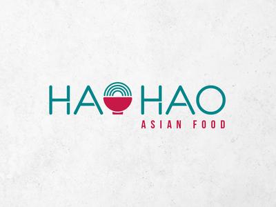 Hao Hao logo typography vector identity logotype