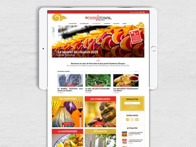 CHINATOWNPARIS french asia webdesign