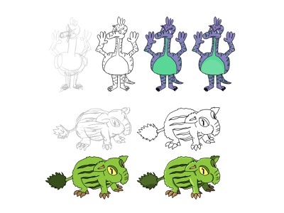 Small drawings in my notebook 6 minimal illustration design tutorial drawing draw digital character