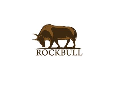 Rockbull branding design logo illustration bull