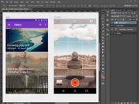 Gallery App Material Design