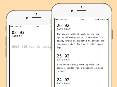 Logbook js android ios webapp web mobile app
