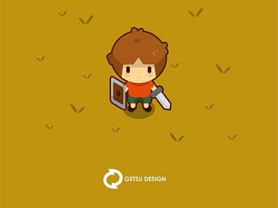 Sprite Knight game art design gameart vector games game design animation illustration