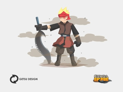 Kanda Mode icon design gameart games design animation illustration game design