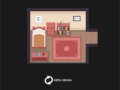 RPG game art..Room games gameart design illustration animation game design