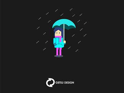 Game art the rain gameart game art animation games design game design illustration