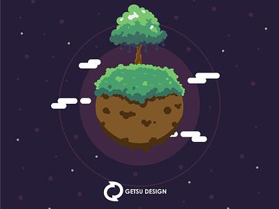 Planet vector games gameart game design animation illustration