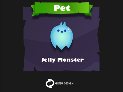 Jelly Monster design gameart games game design animation illustration