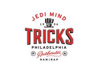 Jedi Mind Tricks merchandise design typography logo design