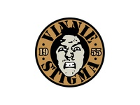 Vinnie Stigma 1955 typography logo design