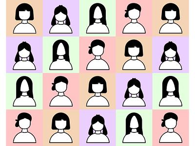 Flat Design-People Illustration flat people illustration characters design flatdesign illustration art
