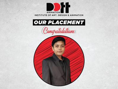 DOTT Placement Ankit Chavda placement graphics branding design