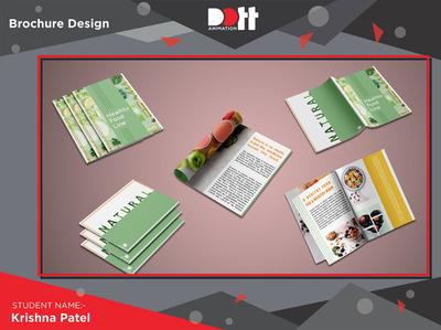 Dott Animation_Krishna_Brochre design brochure design 2d art photo graphics branding design